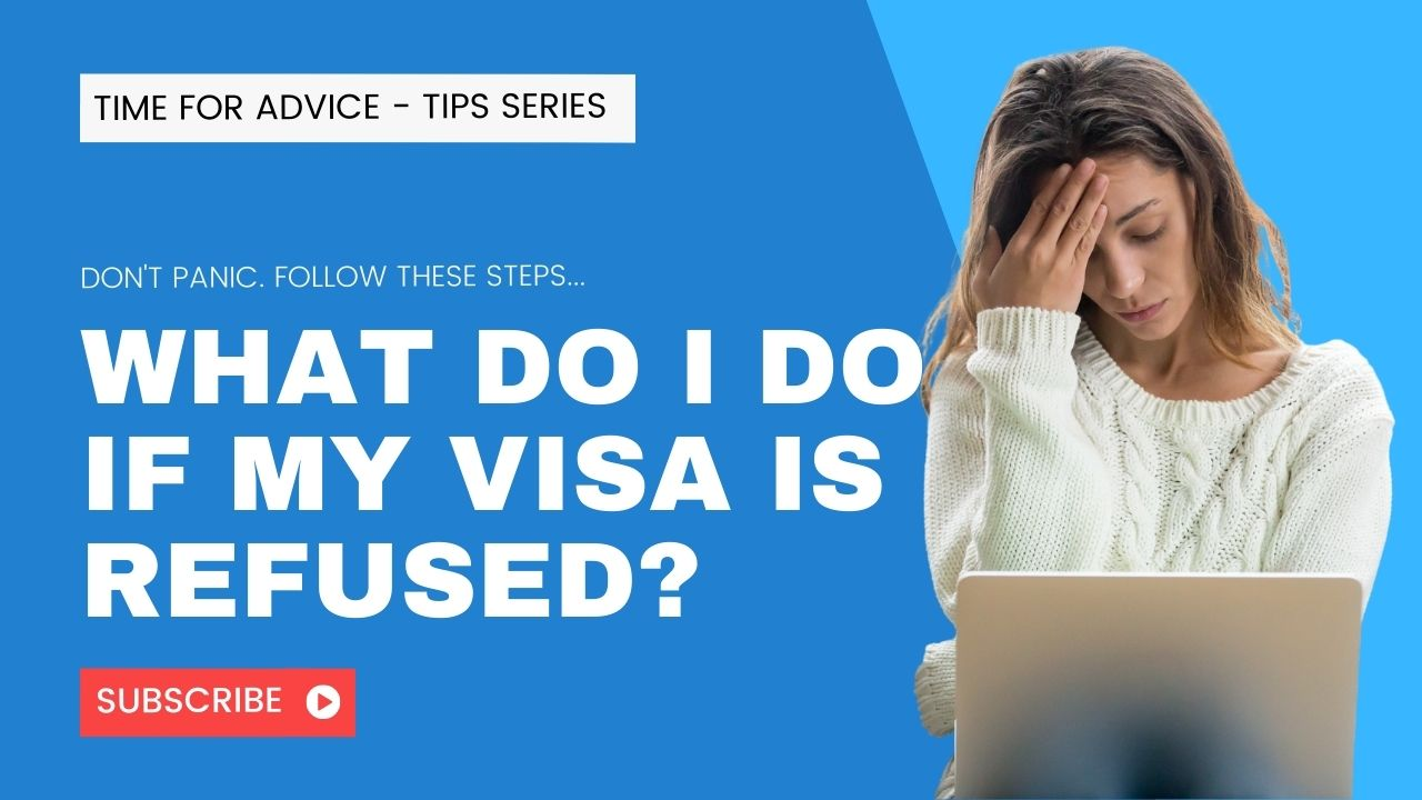 What do I do if my visa is refused?